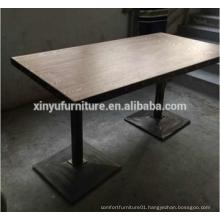 MDF wooden restaurant table XYN1103