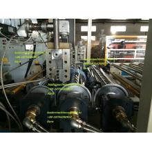Linha da extruso da folha da guia da luz de PMMA / PS / PC, linha de Productipon, maquinaria das folhas