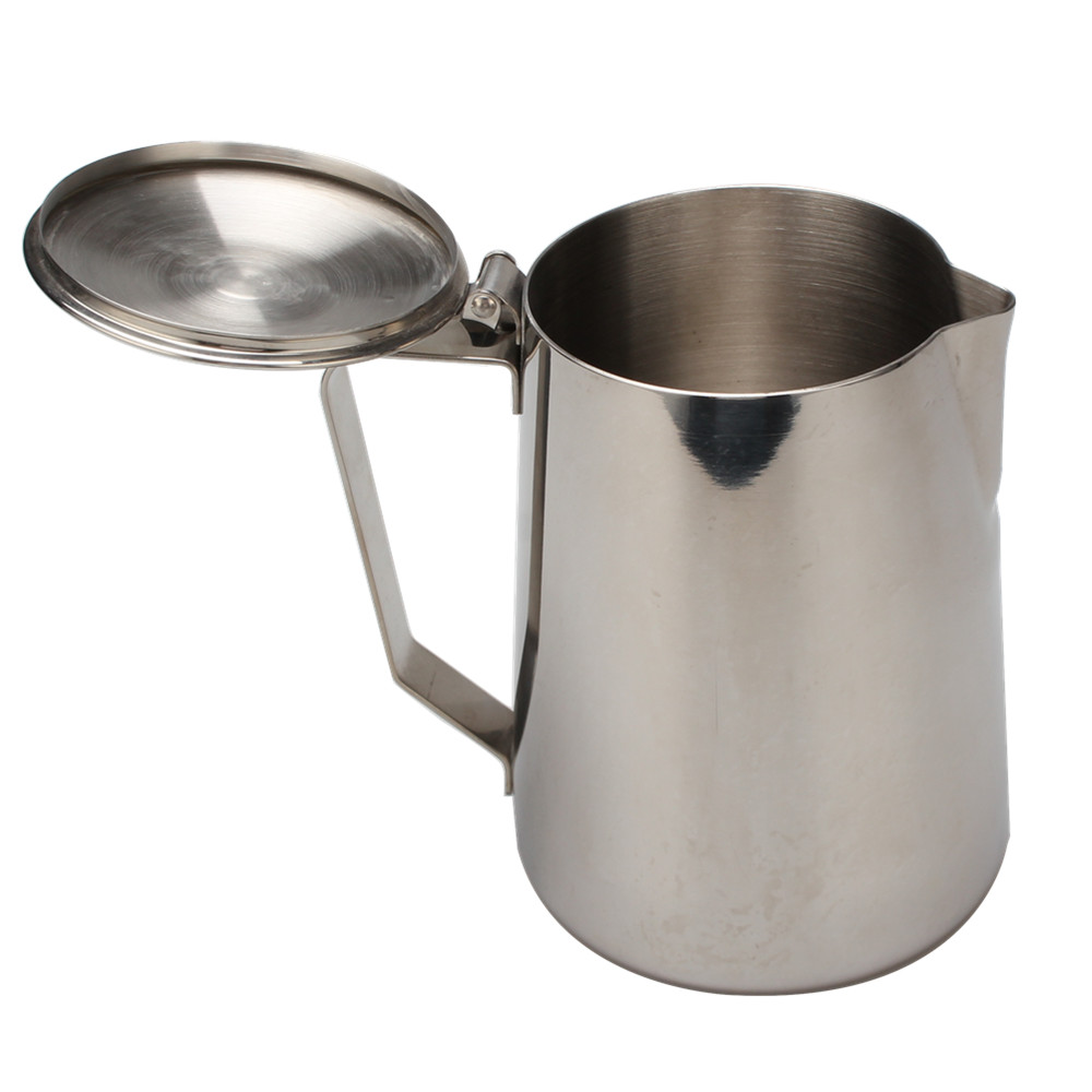 Satin Polishing Inside Milk Frother Pitcher