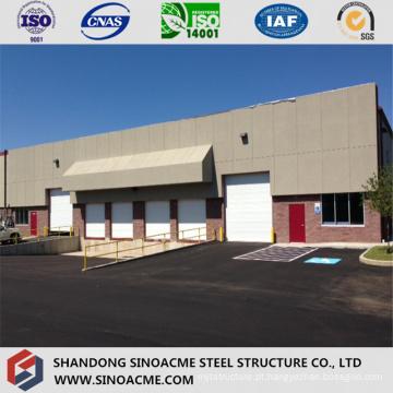 Construção profissional de estrutura de aço para garagem