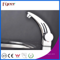 Fyeer Single Handle & Hole - Grifo para lavabo, grifo, lavabo, lavabo, cromo, para baño