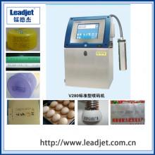 Leadjet 1-4 Lines Cij Batch Number Impresora de inyección de tinta industrial automática