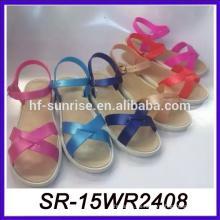 Sandalias de las sandalias del verano para los zapatos planos de las sandalias de los pies Vietnam