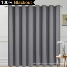 Grey Full Shading Curtain for Patio Door