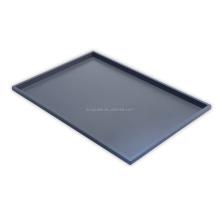 1/2 Gray ABS plastic atlas serving tray