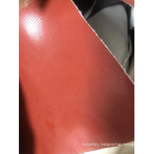 0.25mm Double sides coated silicone rubber fabric