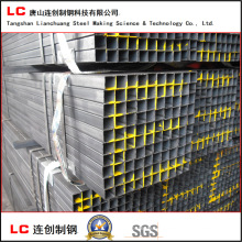 Common Carbon Square and Rectangular Steel Pipe for Structure Building Exported Korea