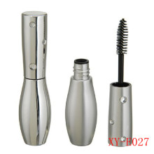 Diamond Vase Shaped Silver Mascara Tube