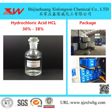 HCL Muriatic Acid 30% do 38% Food Grade