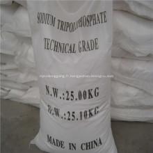 Formule chimique de tripolyphosphate de sodium Stpp