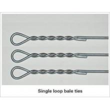 Einfache Schleife Bale Krawatten