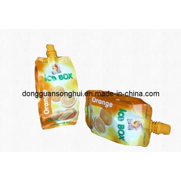 Bolsa de jugo / Bolsa líquida con bolsa de plástico para jugo / jugo