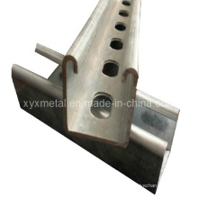 Construction en forme de C ou en forme de métal Galvanisé Unistrut Encadrement en métal