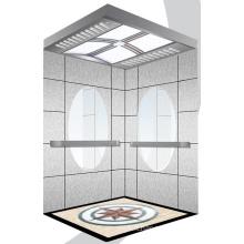 Aksen Mirror Etched Machine Room Passenger Lift J0356