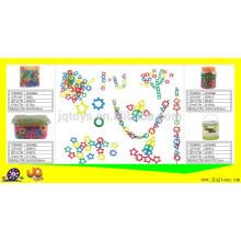 2016 новых дешевых пластиковых нитей бисера игрушка для детей
