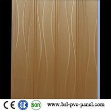 Wave Laminated PVC Wall Panel PVC Panel Board 2015 New
