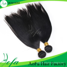 New Arrival Silk Straight Weave Brazilian Remy Human Weaving Hair