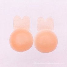 Silicone Rabbit Ear Lif Up Backless Padded Strapless Water Bra