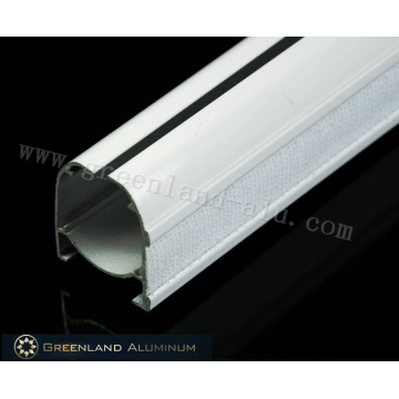Aluminium-Rollo-Kopfschiene mit Klettverschluss