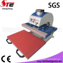 Maquinaria de impressão da folha da tela da única estação para a venda