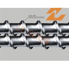 Tornillo y barril de aleación bimetálica