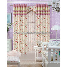 2015 latest design jacquard curtains for bedroom