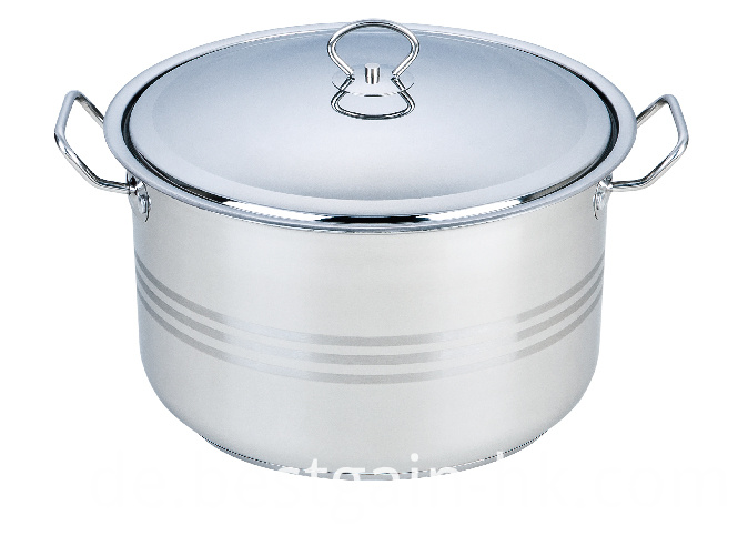Stock Pot with Liner Handles