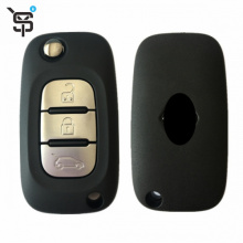 High quality remote smart car key with 3 button car key cloner for Renault 434 Mhz AES chip for Clio Fluence