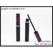 Encantador y vacío plástico redondo Mascara tubo AG-PM12, empaquetado cosmético de AGPM, colores/insignia de encargo