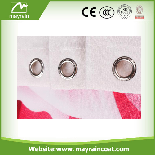 High Quality Printed Shower Curtain
