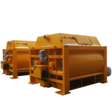 Industrial commercial concrete mixer twin shaft