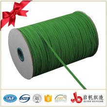 Wholesale personalizado trança de tecelagem fita webbing elástica