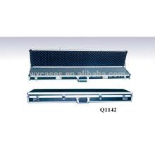 completa caja de fusil de aluminio con espuma en el interior de China fabricante buena calidad