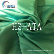 Tejido satinado barato del satén del poliester, composición de la tela del satén, tela de seda para y tela de la tela de cama