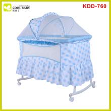 New en1888 luxury design travel system swing crib cradle
