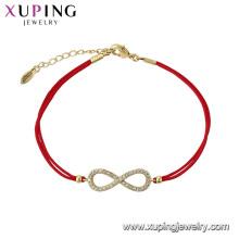 75584 xuping mais recente projeto simples elegante pulseira bonito para meninas na China atacado