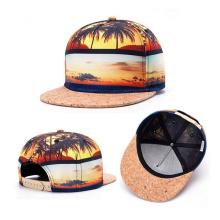 Пользовательские Цветочные Цифровой Печати Snapback Шляпу