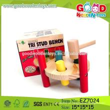 OEM & ODM Popular Hammer Peg Toys, Novos brinquedos de martelo de madeira, Jantes de martelo