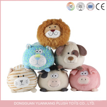 Wholesale Free Stuffed Animal Pattern Doll Plush Blue Cow Toy for Kids