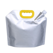 OEM Packaging Bag For Liquid Laundry Liquid Soap Packaging Stand Up Spout Pouch With Handle For Beer/Laundry soap/Water