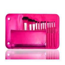 Profissional de fábrica de fornecimento direto cosméticos escova de maquiagem com cabelo sintético (12PCS)