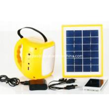 Lámpara solar portátil con radio