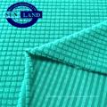 sports garment using 95 polyester 5 spandex jacquard knitting fleece fabric
