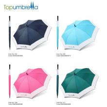 Manfacturer parapluie chinois Grande taille parapluies ouverts auto colorés