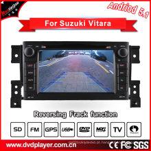 Hualinganandroid 5.1 / 1.6 GHz carro DVD para Suzuki Grand Vitara navegação de áudio GPS com conexão WiFi
