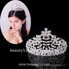 Astergarden Real Photo accessoire de mariage Tiara crown ASJ007