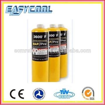 torche de soudage vide Mapp cylindre de gaz et can, 3kg, cylindre de gaz mapp