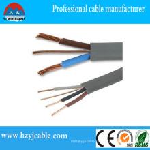 Бесплатный образец плоский Твин с кабелем заземления от завода Китая