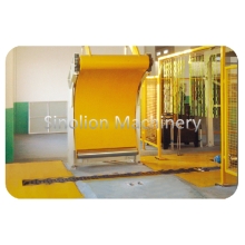 Electric Driven Paper Roll Conveyor Machine