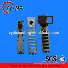 Install door zinc die cast handle lock set for hotel interior door